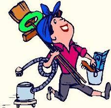 Attrezzature e personale di pulizia