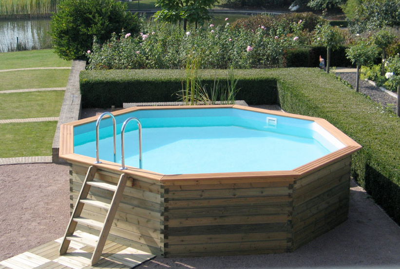 Quando consigliabile acquistare una piscina fuori terra blah blah - Giardino con piscina fuori terra ...